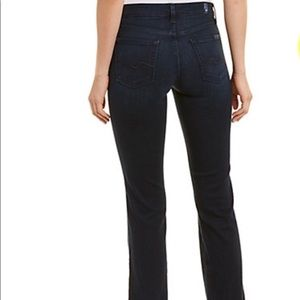 7 For All Mankind Kimmie Boot Cut Blue Jeans